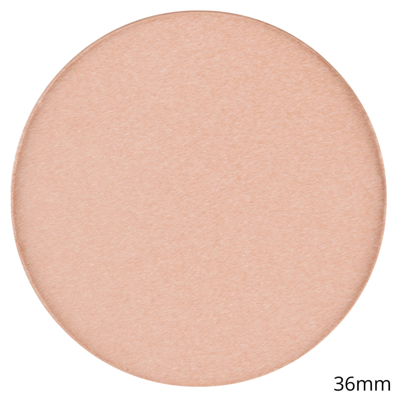 Single Shimmer Blush Shadow -Blush Pot - Croissant By Coastal Scents