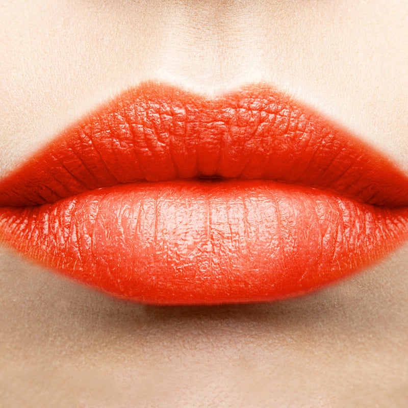 Sunset Orange Lipstick Color