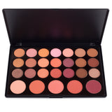 Makeup- Blush Palette - 26 Shadow Blush Palette By Coastal Scents - Close Up