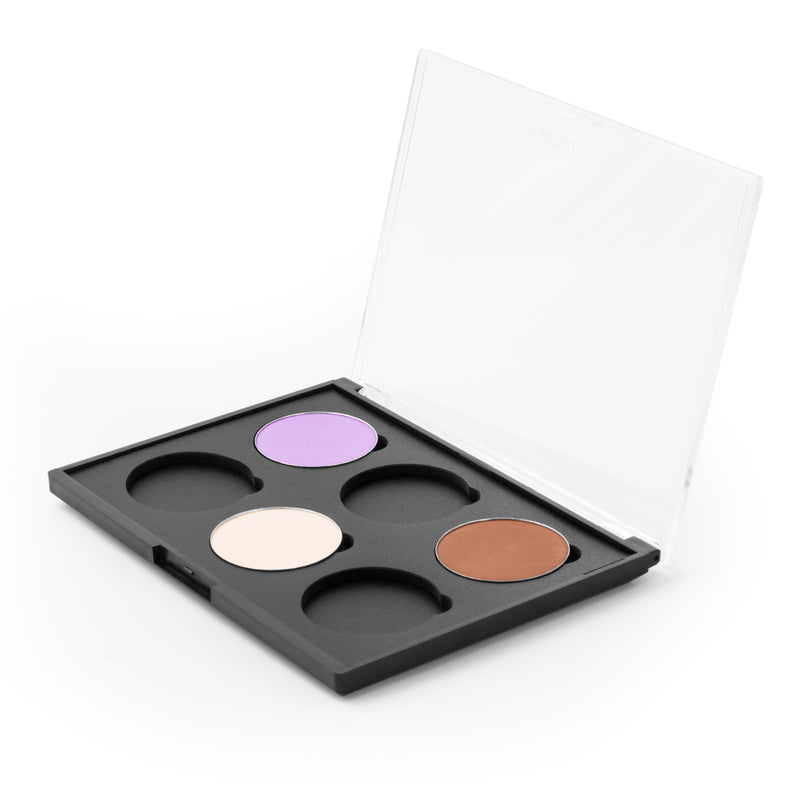 Makeup Palette- Empty Palette: Empty Palette: 6 Blushes With Hot Pots By Coastal Scents