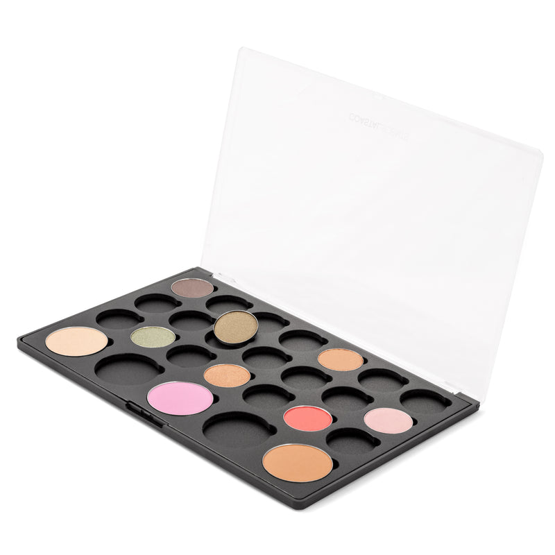 Makeup Palette- Empty Palette: 5 Blushes and 21 Shadows By Coastal Scents