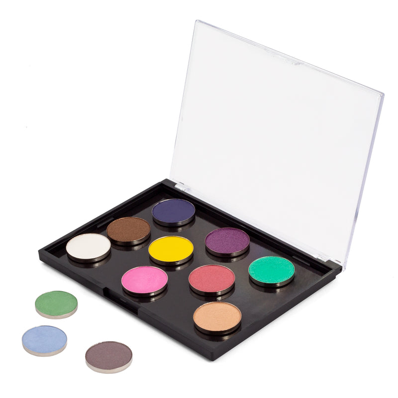 Makeup Palette - Freedom Travel Palette With Hot Pots By Coastal Scents
