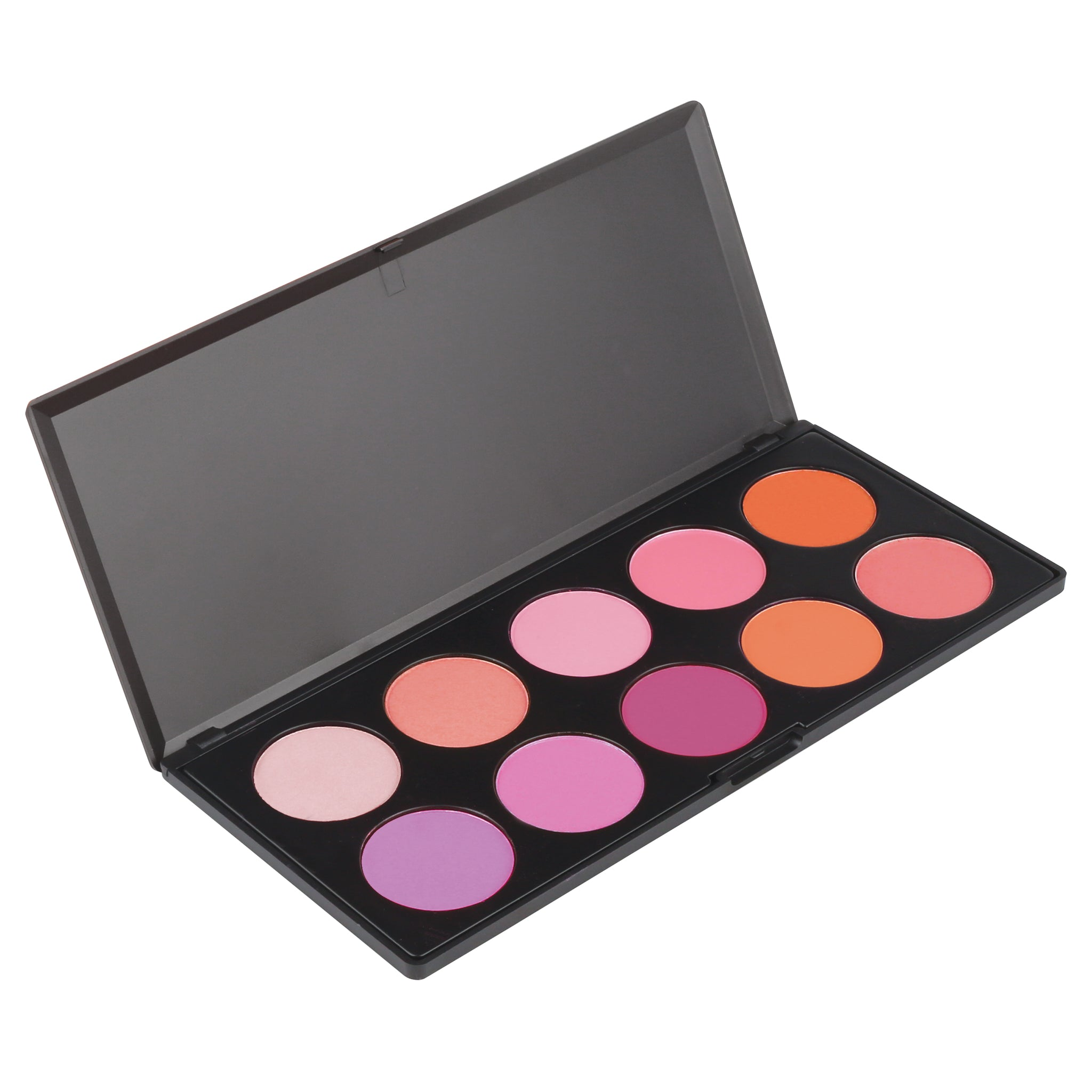 Makeup - Blush Palette - 10 Color Blush Palette Too By Coastal Scents