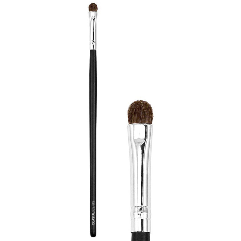 Makeup Brushes - Classic Shadow Brush Small Natural By Coastal Scents