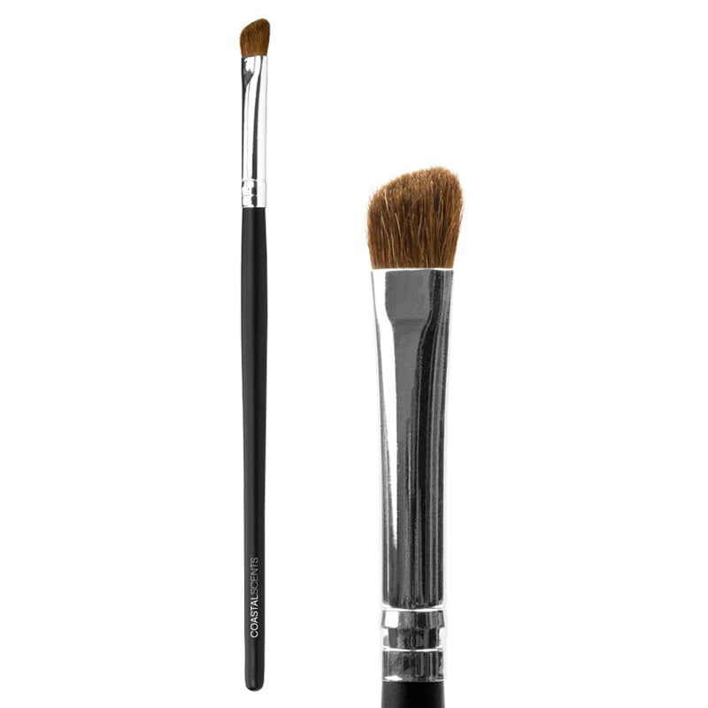 Makeup Brushes - Classic Shadow Angle Brush Natural By Coastal Scents