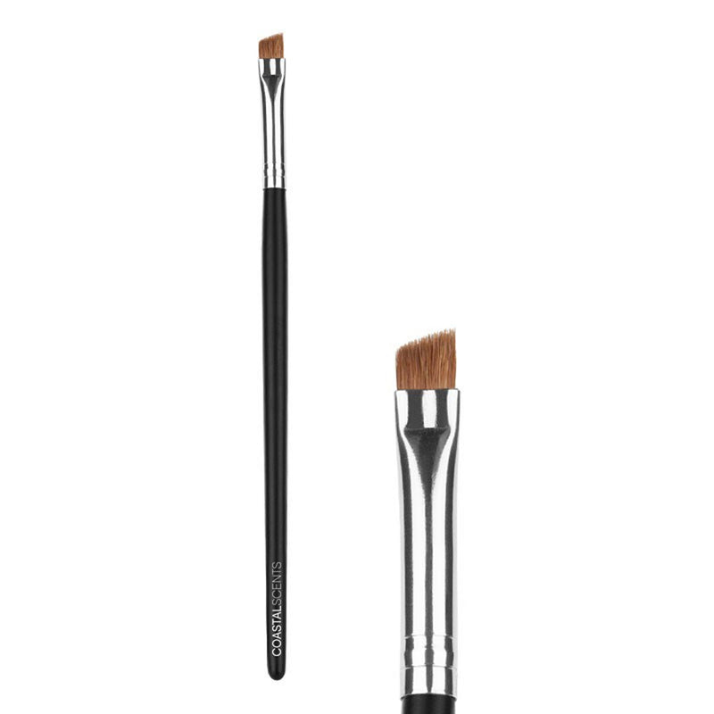 Makeup Brushes - Classic Angled Liner Brush Natural By Coastal Scents