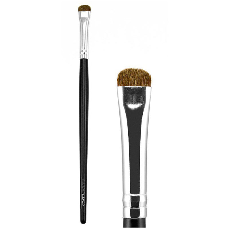 Makeup Brushes - Classic Brow Brush Natural By Coastal Scents
