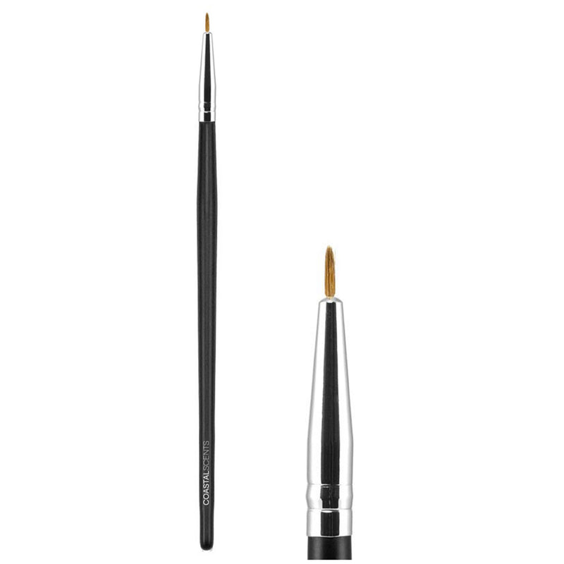 Makeup Brushes - Classic Fine Liner Brush Natural By Coastal Scents