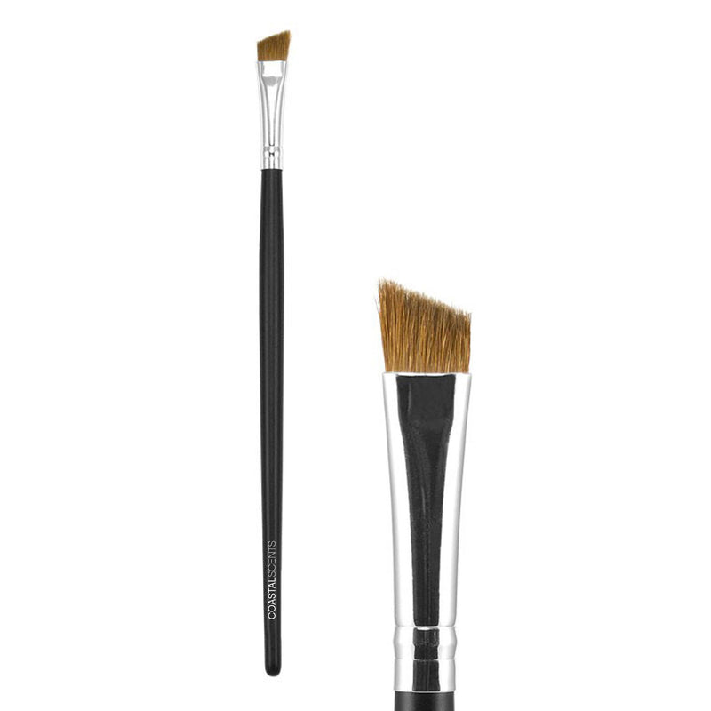 Makeup Brushes - Classic Angled Liner Brush Large Natural By Coastal Scents