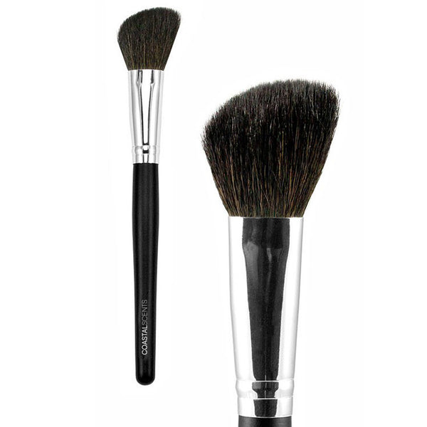 Classic Blush Angle Brush Small Natural