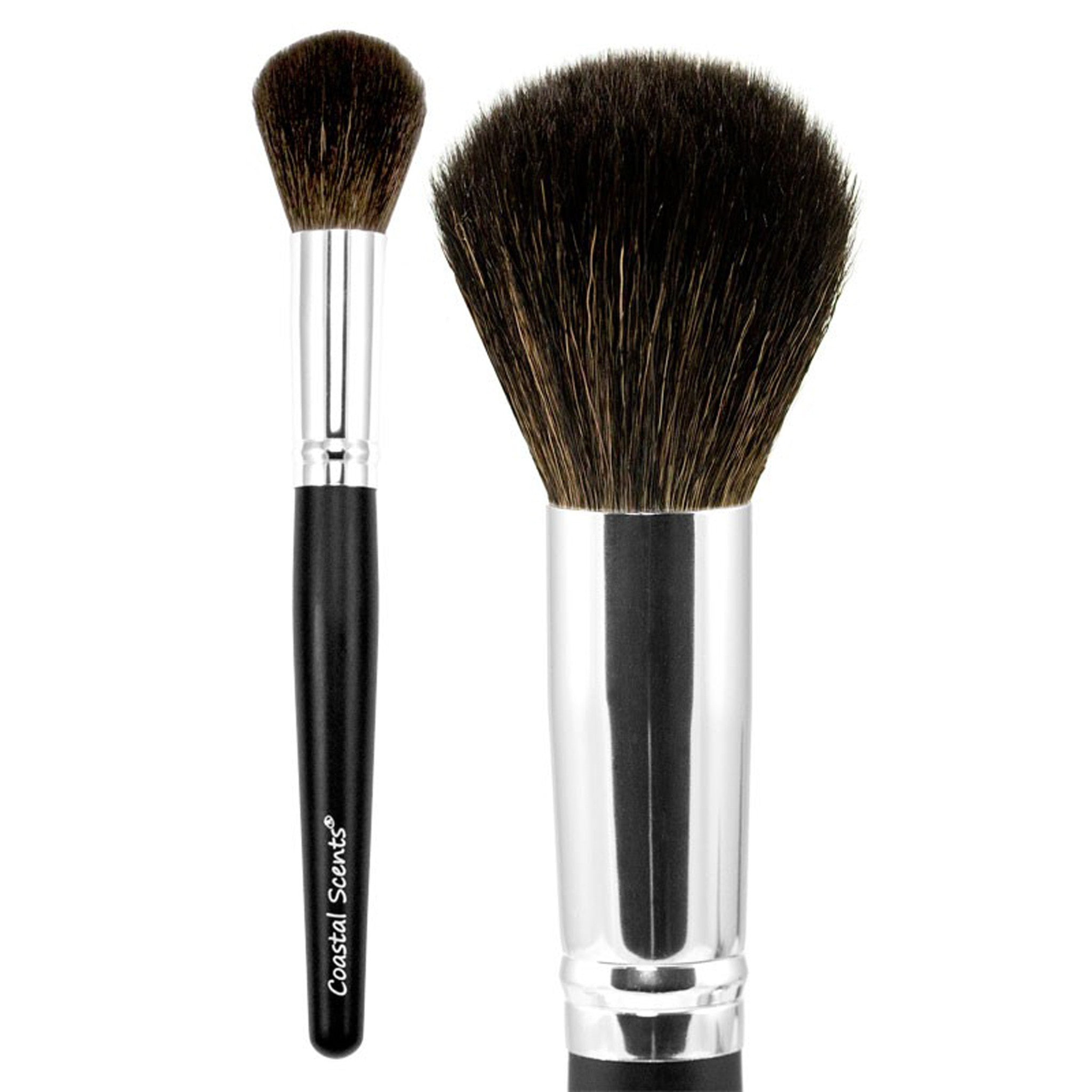 coastal scents brushes. classic large powder brush natural coastal scents brushes