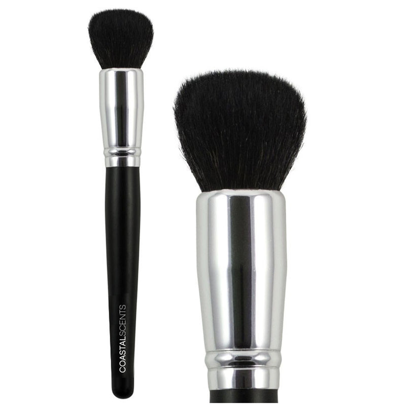 Makeup Brushes - Classic Buffer Brush Small Natural By Coastal Scents