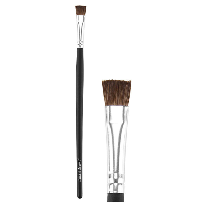 Makeup Brushes - Classic Flat Liner Brush Natural By Coastal Scents