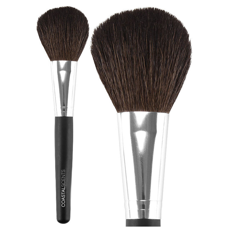 Classic Flat Powder Brush Natural By Coastal Scents