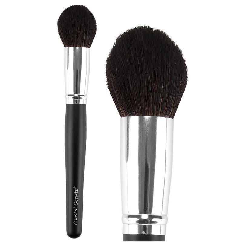 Classic Tapered Kabuki Stick Brush Natural By Coastal Scents
