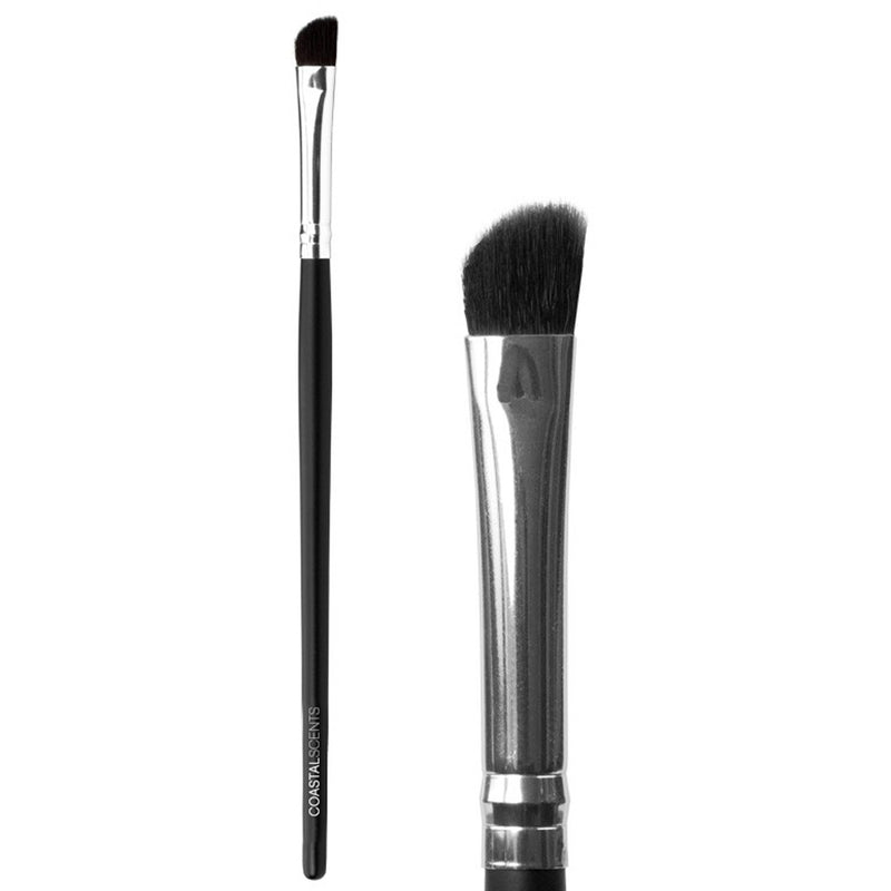 Makeup Brushes - Classic Shadow Angle Brush Synthetic By Coastal Scents