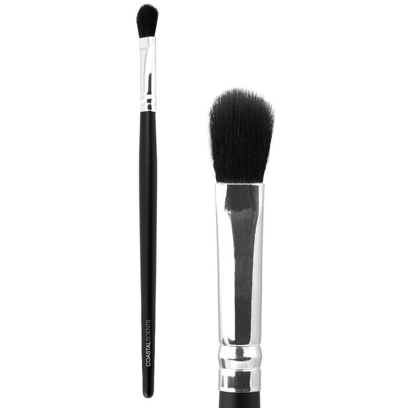Makeup Brushes - Classic Blender Synthetic Brush By Coastal Scents