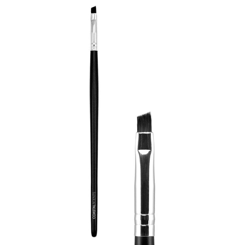Makeup Brush- Classic Angled Liner Brush Small Synthetic By Coastal Scents