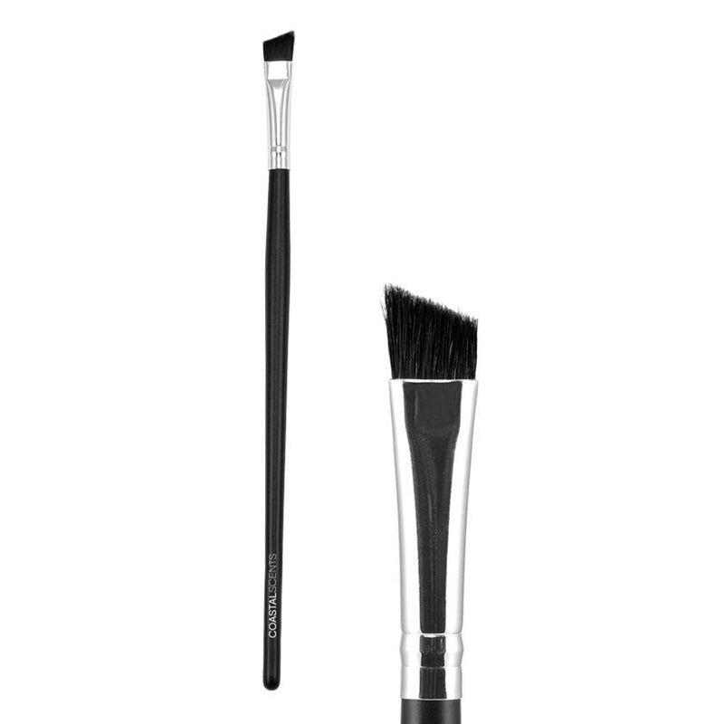 Makeup Brushes - Classic Angled Liner Brush Large Synthetic By Coastal Scents