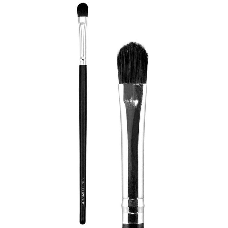 Makeup Brushes - Classic Foundation Concealer Brush Small Synthetic By Coastal Scents