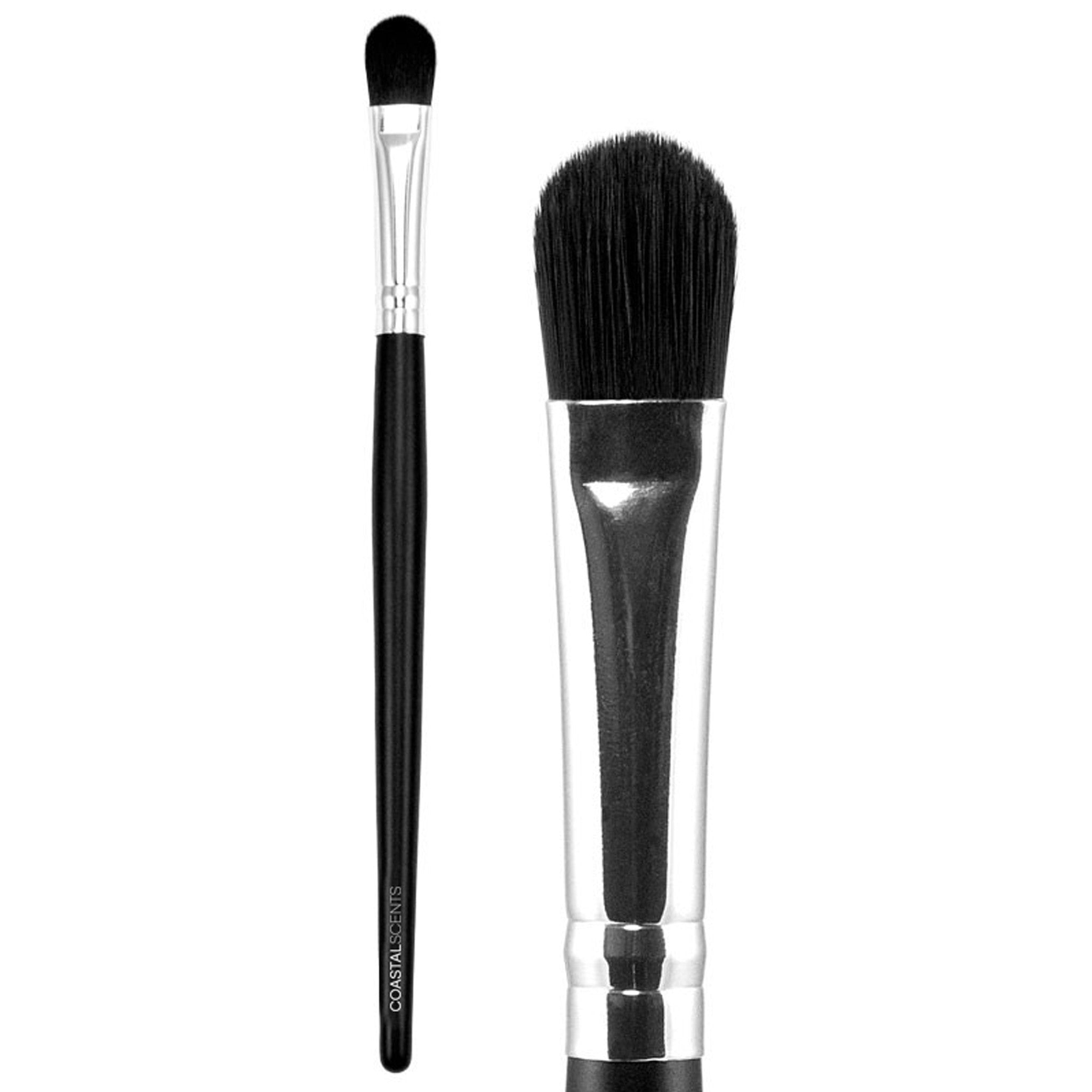Makeup Brushes -Classic Foundation Concealer Brush Medium Synthetic By Coastal Scents