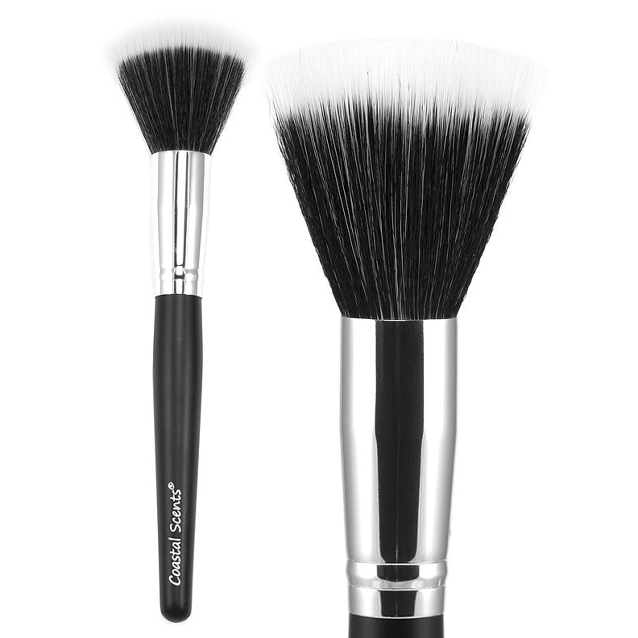 coastal scents brushes. classic stippling brush synthetic coastal scents brushes e