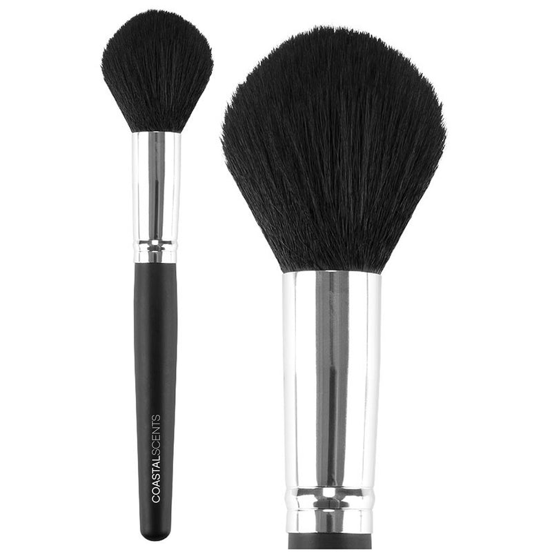 Classic Large Tapered Powder Brush Synthetic By Coastal Scents