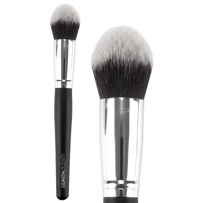 Classic Tapered Kabuki Stick Brush Synthetic By Coastal Scents