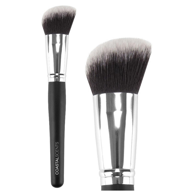 Classic Angled Powder Synthetic Brush by Coastal Scents