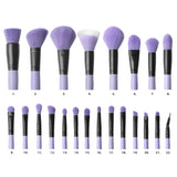 "Makeup Brushes - Brush Affair Vanity Collection in ""Orchid"" By  Coastal Scents- Individual Brushes"