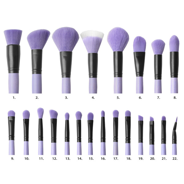 "Brush Affair Vanity Collection in ""Orchid"""