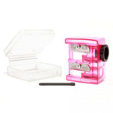 Cosmetic Pencil Sharpener with Case