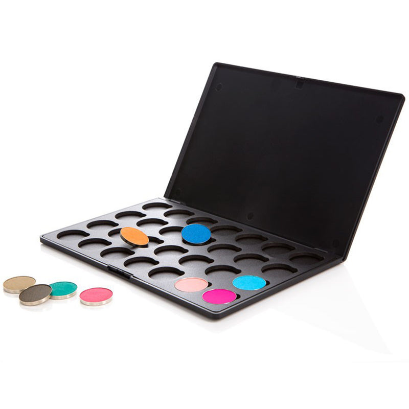 Eyeshadow Palette - Empty Palette: 28 Shadows Solid Lid by  Coastal Scents -Interchangeable Palette: 28 Piece With Hot Pots