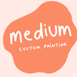Medium Custom Mystery Painting