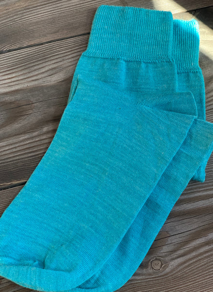 Dress Socken Aquamarin