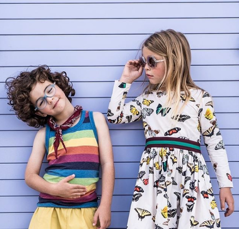 MOLO clothing brand recommendation for kids spring wear as featured on Little Hotdog Watson blog