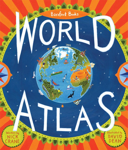 Barefoot Books World Atlas travel recommendation for kids on Little Hotdog Watson blog