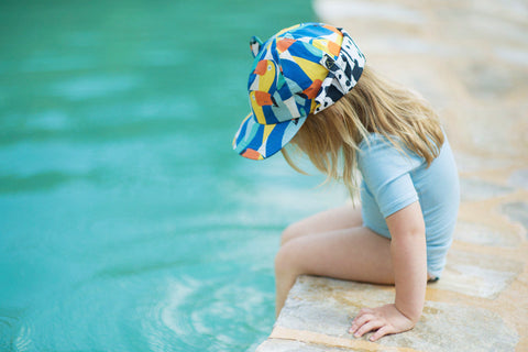 Little Hotdog Watson feature their toucan print kids hat in their latest blog