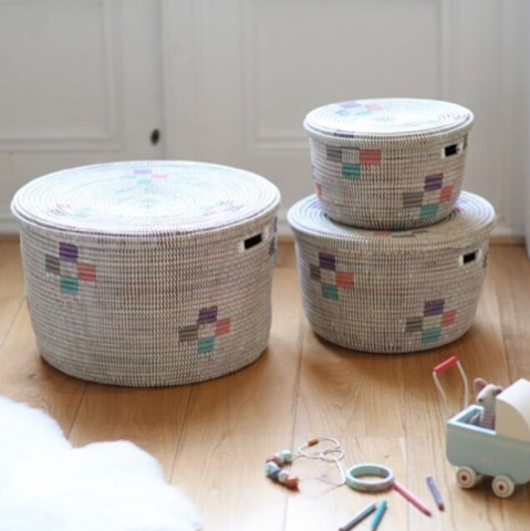 Artisanne storage baskets for kids