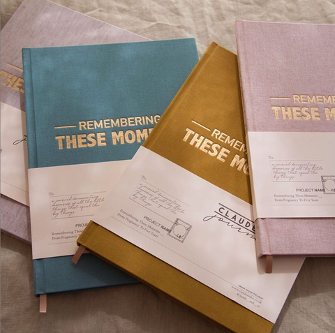Claude and Co journals for remembering memories from pregnancy