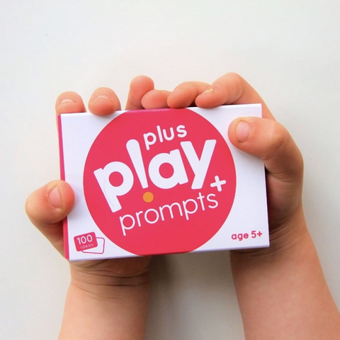 Kids play prompts cards