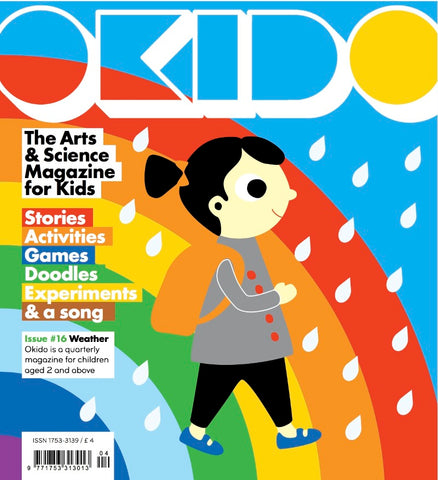 Okido Kids Magazine as recommended on Little Hotdog Watson blog
