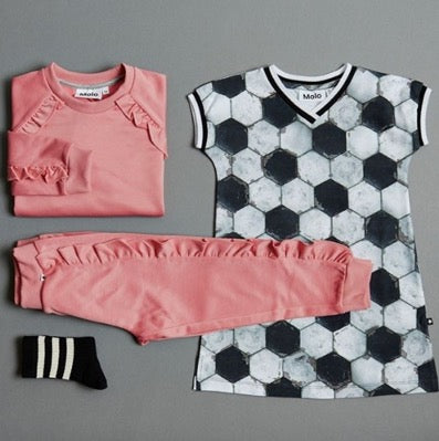 Little Hotdog Watson feature MOLO and their football loving range in their latest blog how to dress your mini sports star