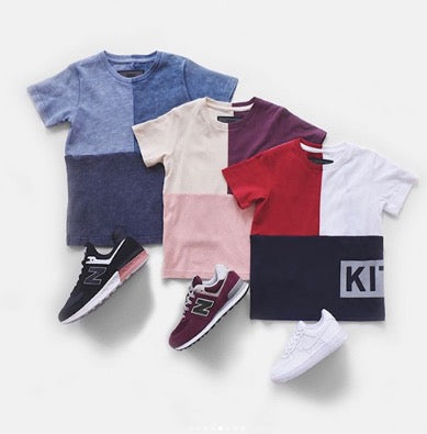 Little Hotdog Watson feature Kith Kids in their latest blog how to dress your mini sports star