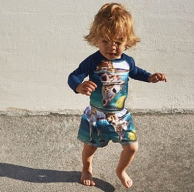 Little Hotdog Watson feature MOLO in their latest Gender Neutral Kids Clothes Blog