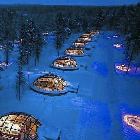 Amazing Glass Igloos in Finland