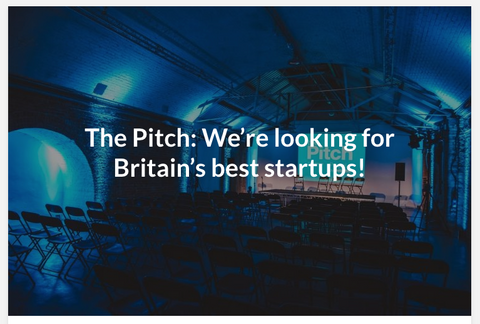 The Pitch UK finalist stage in London