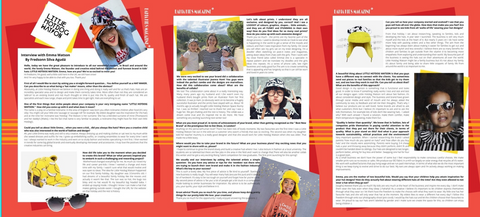 Little Hotdog Watson interview featured in Bahia Kids Magazine