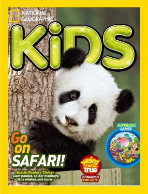 National Geopgraphic Kids Magazine as recommended on Little Hotdog Watson blog