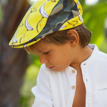 The Explorer Kids Flat Cap